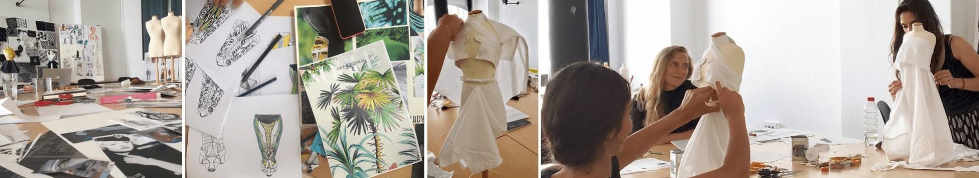 Atelier découverte stylisme de mode