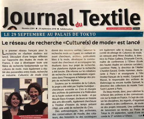journal textile culture mode