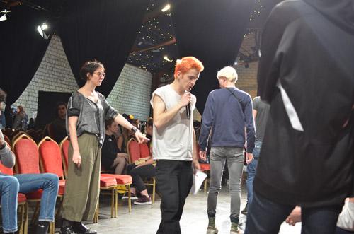 ecole de mode backstage