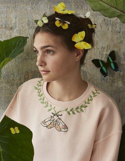 broderie peinture textile partenariat Marie Claire Idées