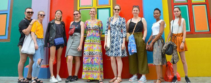ecole de mode - partenariat Singapour