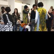 Preparation des mannequins avec les etudiants