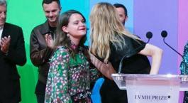 Prix LVMH des diplômés d'école de Mode: Bravo à notre Ancienne élève !